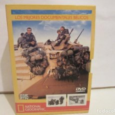 Cine: LOS MEJORES DOCUMENTALES BELICOS - 5 X DVD - NATIONAL GEOGRAPHIC - 2005 - NM+/VG+. Lote 72410119