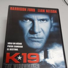Cine: K-19 : THE WIDOWMAKER / HARRISON FORD - LIAM NEESON / DVD. Lote 72462207