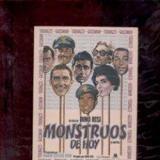 Cine: DINO RISI MONSTRUOS DE HOY DVD. Lote 72513919