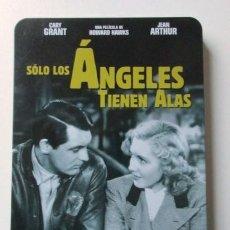 Cine: SOLO LOS ANGELES TIENEN ALAS, GARY GRANT, DVD EN EDICIÓN ESPECIAL ESTUCHE METÁLICO, MUY RARA. Lote 72685939