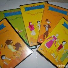 Cine: HERMANOS GRIMM UN PAIS DE CUENTOS 13 DVD COMPLETA. Lote 72699095