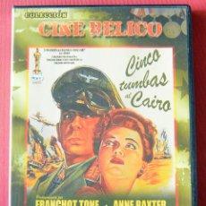 Cine: CINCO TUMBAS AL CAIRO - BILLY WILDER - ANNNE BAXTER - ERICH VON STROHEIM. Lote 135387735