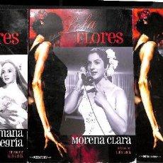 Cine: LOTE DVDS LOLA FLORES: LA ESTRELLA DE SIERRA MORENA, MORENA CLARA Y LA HERMANA ALEGRÍA. Lote 72708443