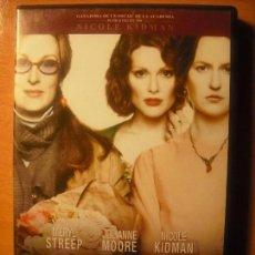 Cine: LAS HORAS MERYL STREEP-JULIANNE MOORE-NICOLE KIDMAN. Lote 72900883