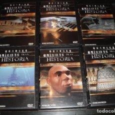 Cine: DVD DOCUMENTAL GRANDES ENIGMAS DE LA HISTORIA,MISTERIOS. Lote 72904231