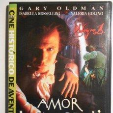 Cine: AMOR INMORTAL. DVD DE LA PELICULA DE BERNARD ROSE SOBRE EL MUSICO GENIAL BEETHOVEN. CON GARY OLDMAN,. Lote 72952223
