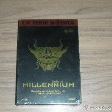 Cine: MILLENNIUM SERIE COMPLETA 6 DVD DE STIEG LARSSON MAS DE 9 HORAS NUEVA PRECINTADA. Lote 148212860