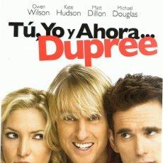 Cine: DVD TÚ,YO Y AHORA... DUPREE . Lote 73016219