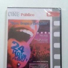 Cine: 24 HOUR PARTY PEOPLE (MICHAEL WINTERBOTTOM, 2002)FACRORY RECORDS. CON PRECINTO ORIGINAL. Lote 73065743
