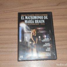 Cine: EL MATRIMONIO DE MARIA BRAUN DVD HANNA SCHYGULLA NUEVA PRECINTADA. Lote 213729860