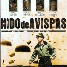 Cine: DVD NIDO DE AVISPAS ROCK HUDSON. Lote 73462307