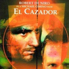 Cine: DVD EL CAZADOR ROBERT DE NIRO . Lote 73482951