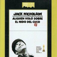 Cine: DVD ALGUIEN VOLÓ SOBRE EL NIDO DEL CUCO JACK NICHOLSON . Lote 73519827