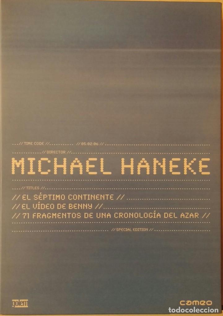 MICHAEL HANEKE - EL SEPTIMO CONTINENTE - EL VIDEO DE BENNY - 71 FRAGMENTOS DE UNA CRONOLOGIA - 3 DVD (Cine - Películas - DVD)