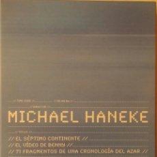 Cine: MICHAEL HANEKE - EL SEPTIMO CONTINENTE - EL VIDEO DE BENNY - 71 FRAGMENTOS DE UNA CRONOLOGIA - 3 DVD. Lote 164898764