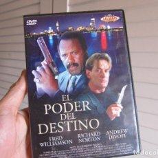 Cine: DVD EL PODER DEL DESTINO - FRED WILLIAMSON - RICHARD NORTON - ANDREW DIVOFF. Lote 73648011