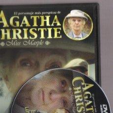 Cine: DVD CINE - EL CASO DE LOS ANONIMOS - AGATHA CHRISTIE (SERIE MISS MARPLE) - COMO NUEVO - UN SOLO USO . Lote 73699031