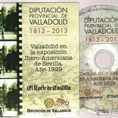 Cine: DVD VALLADOLID EN LA EXPOSICION IBERO-AMERICANA - AÑO 1929 - 49 MINUTOS . Lote 73700691