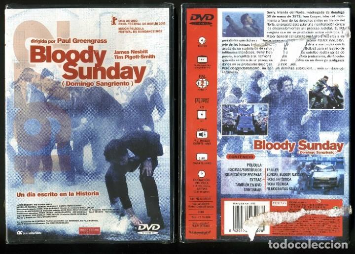 DVD A ESTRENAR - BLOODY SUNDAY - Nº55 (Cine - Películas - DVD)