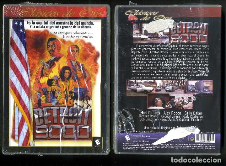DVD A ESTRENAR - DETROIT 9000 - Nº58 (Cine - Películas - DVD)
