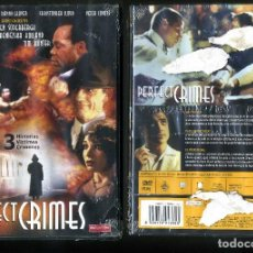Cine: DVD A ESTRENAR - PERFECT CRIMES - Nº71. Lote 73974763