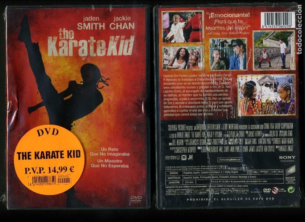 DVD A ESTRENAR - KARATE KID- Nº74 (Cine - Películas - DVD)