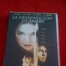 Cine: LA DESAPARICION DE EMBRY - DVD - KATIE HOLMES. Lote 73986271