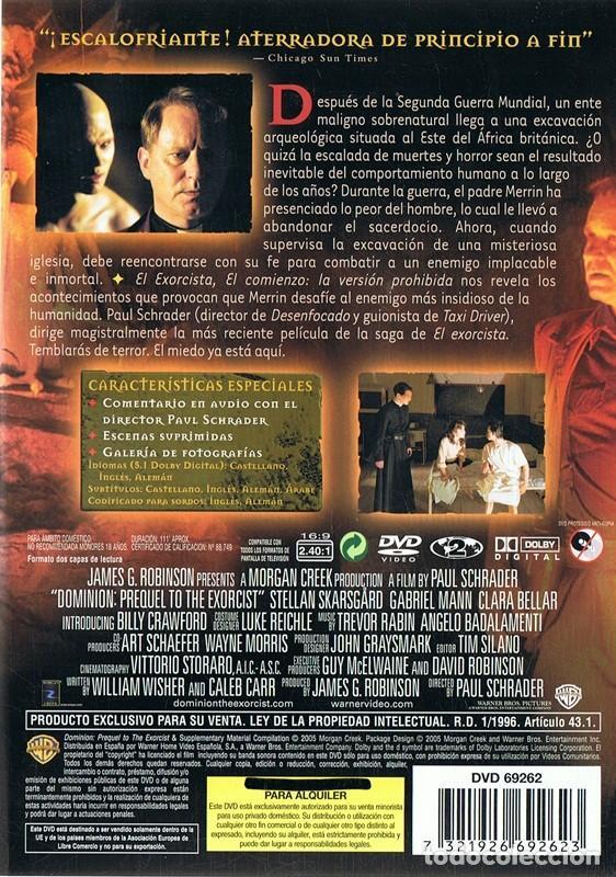 Cine: DVD EL EXORCISTA EL COMIENZO - Foto 2 - 74045559