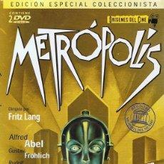 Cine: DVD METRÓPOLIS (EDICIÓN ESPECIAL COLECCIONISTA 2 DISCOS). Lote 74071447