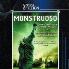 Cine: DVD MONSTRUOSO DVD + LIBRO. Lote 74072855