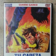 Cine: TU CABEZA POR MIL DÓLARES - DVD - WESTERN - GIANNI GARKO. Lote 74153743