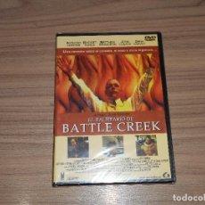 Cine: EL BALNEARIO DE BATTLE CREEK DVD ANTHONY HOPKINS BRIDGET FONDA JOHN CUSACK NUEVA PRECINTADA. Lote 126070424