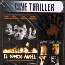 Cine: DVD CINE THRILLER EL CUARTO ÁNGEL (PRECINTADO). Lote 74320239