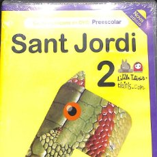 Cine: DVD SANT JORDI I EL DRAC Nº 2. NUEVO!. Lote 74486951