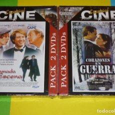 Cine: CORAZONES EN GUERRA + LLAMADA A ESCENA - PRECINTADA. Lote 95559579