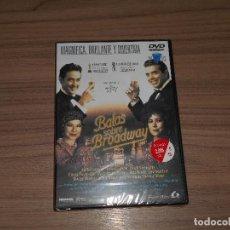Cine: BALAS SOBRE BROADWAY DVD DE WOODY ALLEN JIM BROADBENT JOHN CUSACK NUEVA PRECINTADA. Lote 255495965
