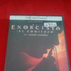 Cine: EL EXORCISTA - EL COMIENZO - DVD TERROR. Lote 75196743