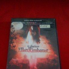 Cine: EL DIARIO DE ELLEN RIMBAUER - DVD TERROR. Lote 75196891