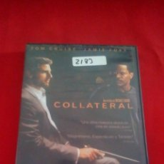 Cine: COLLATERAL - DVD - TOM CRUISE - JAMIE FOXX. Lote 75197367