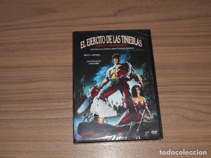 EL EJERCITO DE LAS TINIEBLAS EDICION COLECCIONISTA REMASTERIZADA DESDE 4 K DVD NUEVA PRECINTADA (Cine - Películas - DVD)