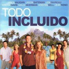 Cine: DVD TODO INCLUIDO VINCE VAUGHN. Lote 75664835