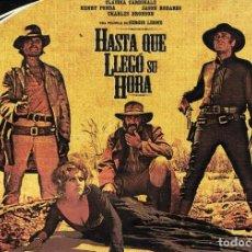 Cine: DVD HASTA QUE LLEGÓ SU HORA CLAUDIA CARDINALE. Lote 75767315