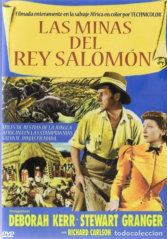 DVD LAS MINAS DEL REY SALOMÓN STEWART GRANGER (Cine - Películas - DVD)