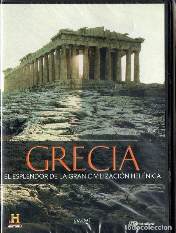 GRECIA, EL ESPLENDOR DE LA CIVILIZACIÓN HELÉNICA (CANAL HISTORIA) (Cine - Películas - DVD)