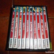 Cine: EL MEJOR CINE DE LA TRANSICION CAJA COLECCION DVD TIEMPO 10 PELICULAS LA VAQUILLA EL DIPUTADO . Lote 75924211