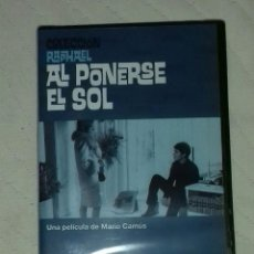 Cine: DVD AL PONERSE EL SOL - RAPHAEL . Lote 75933767