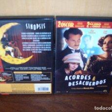 Cine: ACORDES & DESACUERDOS - DIRIGIDA POR WOODY ALLEN - DVD. Lote 75988451