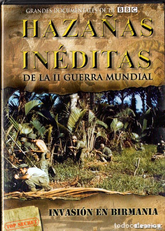 HAZAÑAS INÉDITAS DE LA II GUERRA MUNDIAL: INVASIÓN EN BIRMANIA (Cine - Películas - DVD)