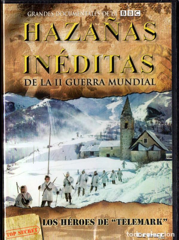 HAZAÑAS INÉDITAS DE LA II GUERRA MUNDIAL: LOS HÉROES DE TELEMARK (Cine - Películas - DVD)