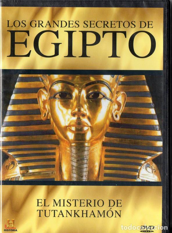 LOS GRANDES SECRETOS DE EGIPTO: EL MISTERIO DE TUTANKHAMÓN (Cine - Películas - DVD)